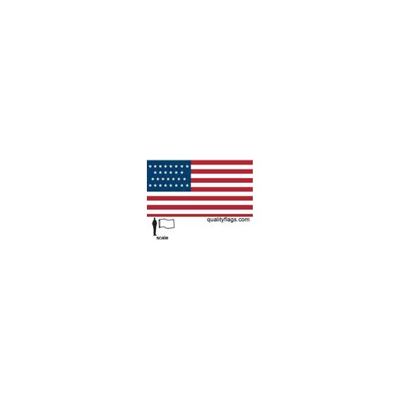 29 star u s flag 3x5 39 nylon quality flags for Bunting roofing iowa city